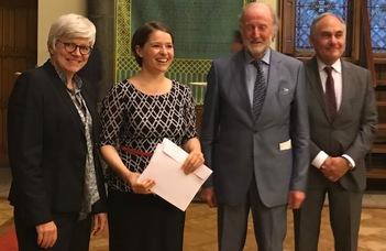 Sulyok Katalin Henry Wheaton-díjat kapott